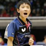 卓球の張本智和がかわいい!両親は中国人?素顔や性格が気になる!