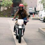 ラブソング バイクの車種は?藤原さくらが乗ってたのはヤマハTW200?