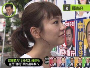 桐谷美玲 選挙